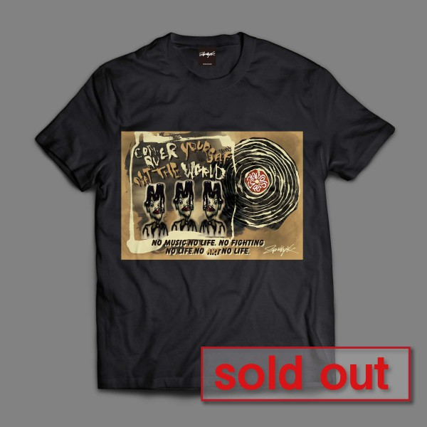 T-ShirtMOONDYNAMITE2黒soldout