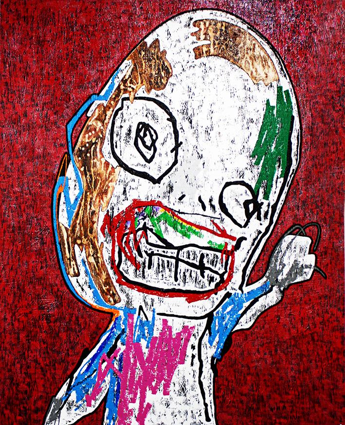 Canvas・acrylic (1,620mm×1,300mm)