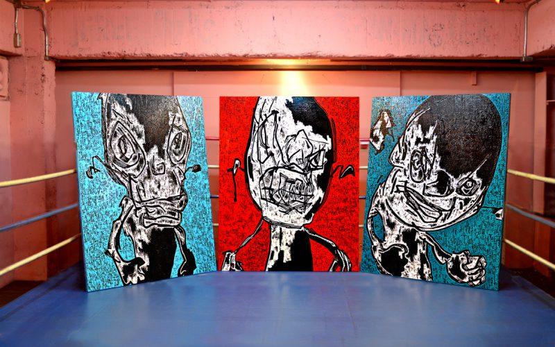 onizukakatsuya ART 2016 EIIBITION  RING