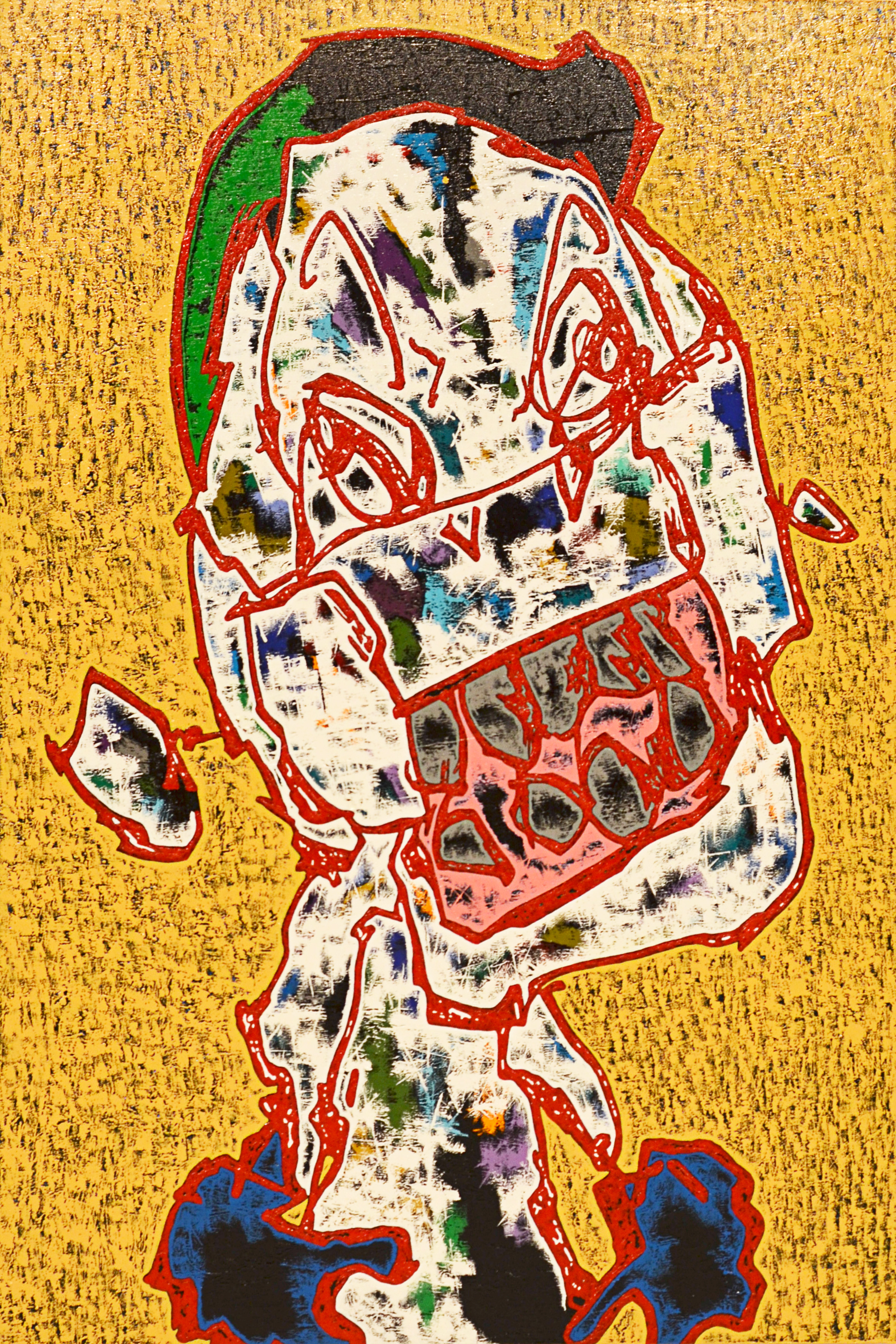 Canvas・acrylic (1,940mm×1,303mm)