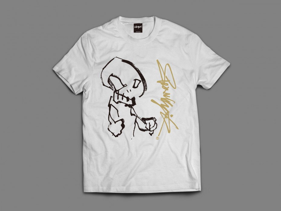 Fighting SCULL_2(White)S/M/L/XL