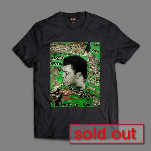 Says Clay Tシャツ(black)